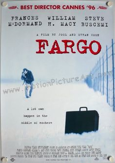 #36 on my list is this Coen Brother's masterpiece set in the snowy Fargo South Dakota.. The accents in this movie are an added attraction... If you haven't seen this masterpiece... You definitely have to!!