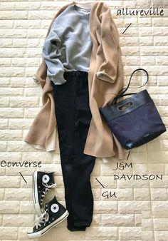 40代にも似合うスウェット!感動の1枚はここにある【高見えプチプラファッション #75】 | ファッション誌Marisol(マリソル) ONLINE 40代をもっとキレイに。女っぷり上々! Capsule Wardrobe, Winter Outfits, Polyvore, Converse, Style Inspiration, Coat, My Style, Casual, Womens Fashion
