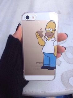 rollin  w the homies   Simpson funny iPhone case f8592e97b69ad