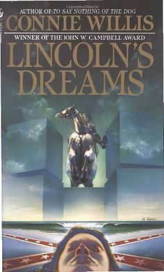 Lincoln's Dreams by Connie Willis http://www.amazon.com/dp/0553270257/ref=cm_sw_r_pi_dp_pcavub1XTNPYQ