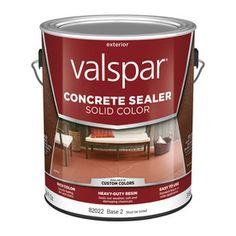Valspar Tintable Base 2 Solid Concrete Sealer (Actual Net Contents: 124-Fl Oz) 024.0082022.007