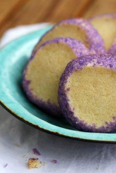 purple brysselkex (swedish biscuits mm)