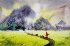Awesome Water Color Painting Art by Elayaraja ~ Chori-Choriyaan चोरी-चोरियाँ Painting Art, Watercolor Paintings, Awesome, Water Colors, Watercolour Paintings, Painting, Watercolor Painting
