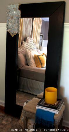 DIY Mirror Frame - Rough Cut Quartz Mirror Frames