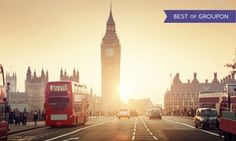 Groupon - ✈ 8-Day Europe Vacation w/ Airfare from Gate 1 Travel. Price per Person Based on Double Occupancy (Buy 1 Groupon/Adult). in UK, France, and Italy. Groupon deal price: $1,099