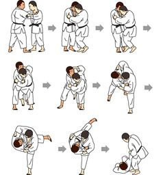 The Basics Of Judo – Martial Arts Techniques Kung Fu Martial Arts, Mixed Martial Arts, Aikido, Judo Throws, Shotokan Karate, Ju Jitsu, Martial Arts Techniques, Tai Chi, Workout Exercises