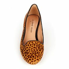 Smoking leopard loafers