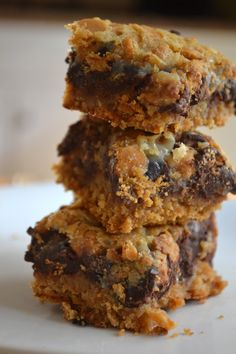 World's Best Cookie Bar- A new take on the classic recipe thanks to the butterscotch chips!