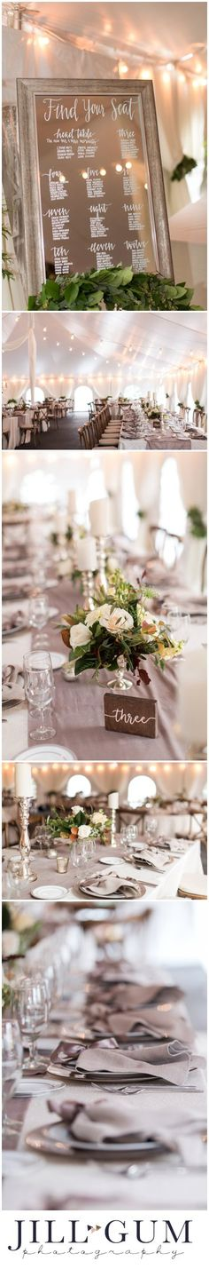 Elegant outdoor fall wedding, outdoor white tent wedding reception, sophisticated outdoor fall wedding, neutral fall wedding, classy outdoor fall wedding, True Colors Floral Artistry florals, luxurious outdoor wedding, white tent wedding reception, floral centerpieces, Jill Gum Photography, Midwest weddings, floral chandelier, mirrored backdrops, elegant neutral place settings for reception, long tables and round tables for wedding reception, reception place setting inspiration