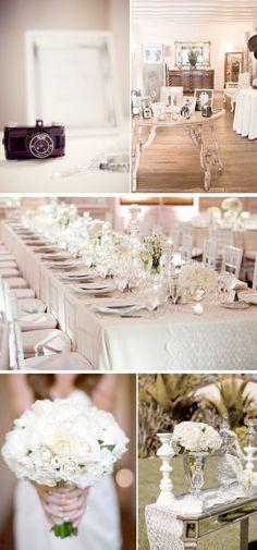 Trouwen met een thema: Witte bruiloft | ThePerfectWedding.nl