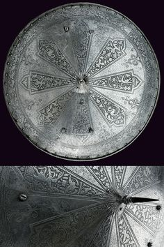 An engraved shield,    provenance:	 	North Italy dating:	 	 third quarter of the 16th Century.