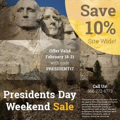 Our #PresidentsDay weekend sale has begun. Enjoy 10% off site wide and in store through 2/21. #DutchCrafters #AmishFurniture