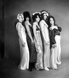 Very early GTOs shots (before Mercy and Cynderella joined) taken by a fellow named Michael Craven who is lost in history. Christine and I are wearing nighties, which was a common GTO practice. Pamela Des Barres, Rock And Roll Girl, Rock N Roll, Slade Band, 70s Aesthetic, Girls Together, People Dancing, Previous Life, Some Girls