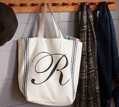 French Stripe Tote Bag #potterybarn