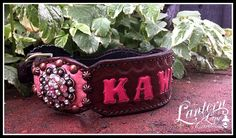 custom order personalized dog collar