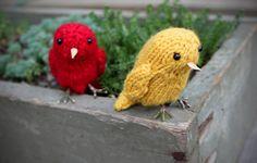 Free Knitting Pattern - LittleBirds by Katie on Duo Fiberworks