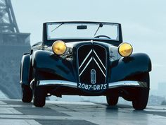 1934–57 Citroën Traction Avant Cabrio