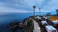 Elia #restaurant... Amazing view! #AlasResort #Monemvasia Resort Spa, Greece, Restaurant, Luxury, Amazing, Luxury Travel, Interpersonal Relationship, Travel, Greece Country