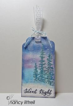Loll's 12 Tags of Christmas Day 1 by nancy littrell - Cards and Paper Crafts at Splitcoaststampers
