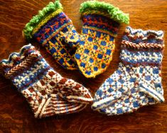 PDF Latvian Mittens and Socks Knitting Pattern by ThreadsOfMeaning, $7.00