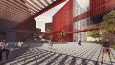 Galería de McCullough Mulvin Architects diseñan la extensión de una universidad en la India - 11