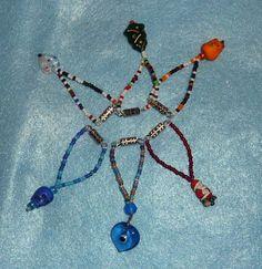 Little Santa Necklace for BLYTHE Goodies, Santa, Handmade, Jewelry, Sweet Like Candy, Hand Made, Jewlery, Gummi Candy, Jewerly
