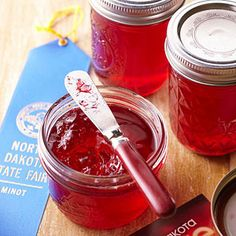 North Dakota Blue Ribbon Winner :Nanking Cherry Jelly