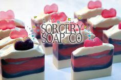Ugly Bath Betty Soap Box  These are the Ugly Betty soaps of Sorcery Soap. They all work, they will clean your body.  Making less than ideal soaps is