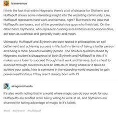 wow this is actually extremely accurate & makes me proud to be a slytherin