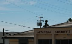 Sept 2012. Endeavour Space Shuttle flyover at the Altadena Sheriff's Station