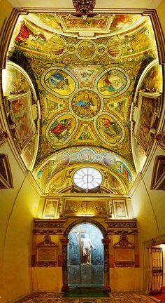 The Basilica of Santa Croce in Gerusalemme in Rome