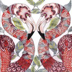 Millie Marotta Tropical Wonderland - Flamingo