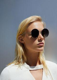 Rounded sunglasses | MANGO