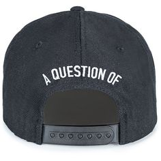 A Question Of Kill Snapback Cap (240 RON) ❤ liked on Polyvore featuring accessories, hats, caps hats, snap back hats, green hat, white snapback and snapback hats