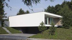 Lab32 architecten | moderne eigentijdse architectuur | Ontwerp villa Spee te Haelen, nieuwbouw moderne eigentijdse bungalow