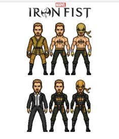 Iron Fist, Iron Man, Defenders, Avengers, Marvel, Comics, Fictional Characters, Iron Men, The Avengers