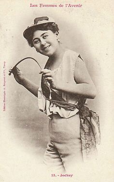Trading cards: Professions for women of the future imagined in 1902 | Dangerous Minds