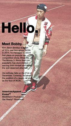 """ Meet iKON's Bobby Kim! """