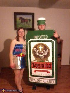 Jager Bombs - DIY couples Halloween costume