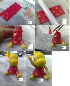 STEP BY STEP... Tasha from Backyardigans