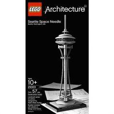 LEGO - Architecture 21003 Seattle Space Needle, LEGO - Architecture Lego - Shop Online for Toys in Australia - Fishpond.com.au