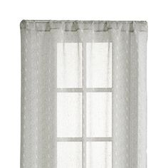 "Knots 48""X108"" Curtain Panel"
