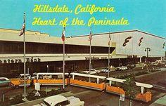 Hillsdale Mall San Mateo Shopping Tram