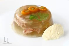 Panna Cotta, Bacon, Ethnic Recipes, Christmas Recipes, Pork, Food And Drinks, Dulce De Leche, Pork Belly