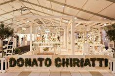Lo Stand di Donato Chiriatti (Flower Design) all'Expo Promessi Sposi 2012 Lecce. Bellissimi allestimenti