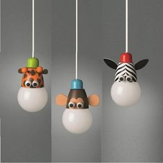 Children's Animals Zoo Themed Ceiling Light Ideal For Kids Bedroom & Playroom | eBay