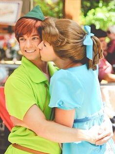 Wendy and Peter Pan!
