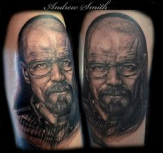 pictures - Awesome Realistic Walter White Tattoos