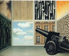 On the threshold of liberty 1930 Rene Magritte Acrylic Painting Lessons, Watercolor Paintings Abstract, Watercolor Artists, Abstract Oil, Painting Art, Rene Magritte, Artist Magritte, Magritte Paintings, Gallery Of Modern Art