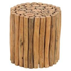 Asher Indoor/Outdoor Teak Stool
